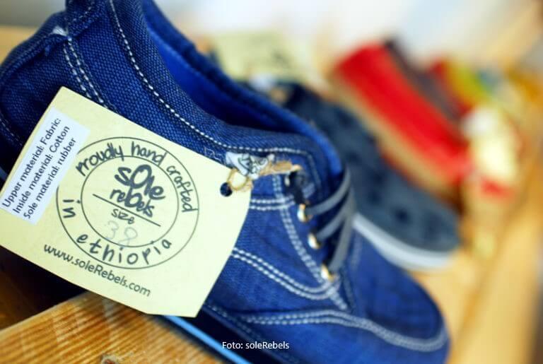 Solerebels-Schuhe: Exportschlager aus Äthiopien