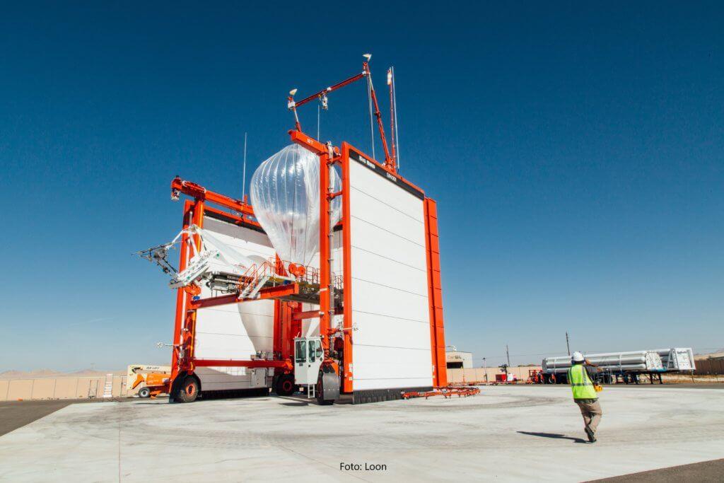 Project Loon: Startstation für Googles Internetballons
