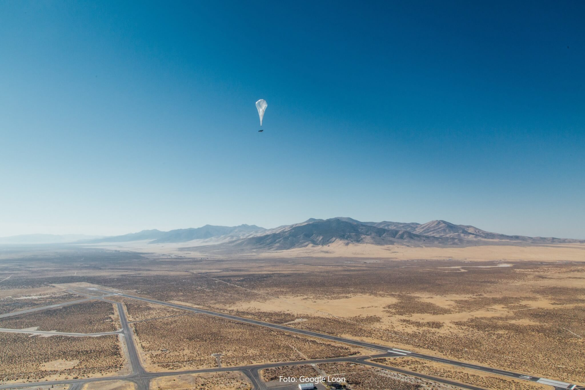 Project Loon: Googles Internetballons starten über Kenia
