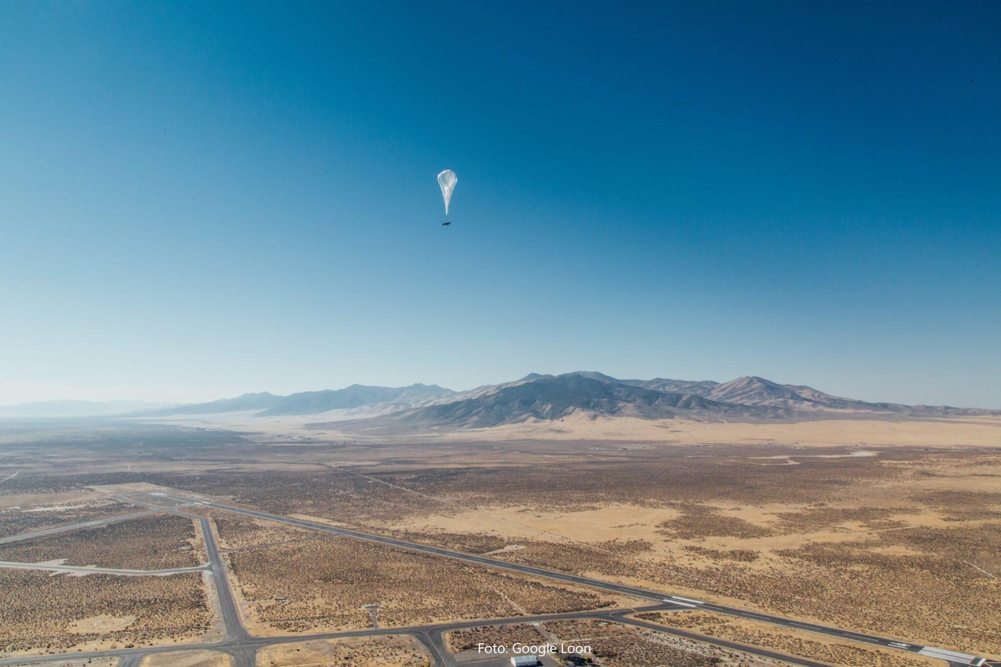 Project Loon: Googles Internetballons starten über Kenia