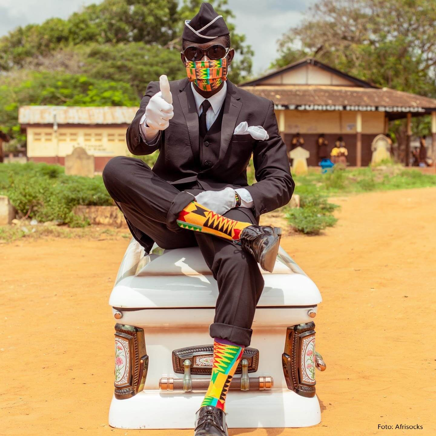 Afrisocks aus Ghana: Hipster-Socken als Statement